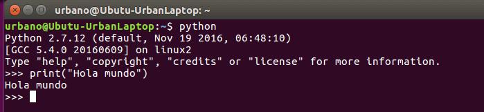 python linux ubuntu