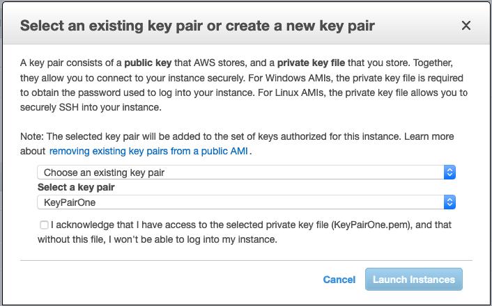 archivo clave conexion ssh aws