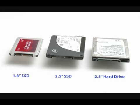 2.5 versus 1.5 ssd size compared